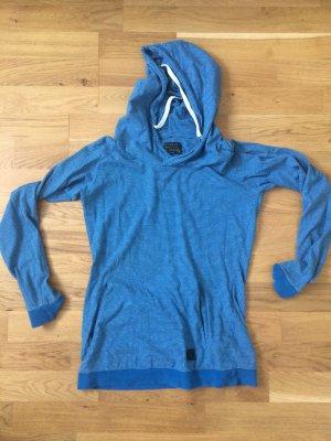 Forvert, S, blau, Hoodie, Kapuzenpullover, Sweater, Shirt, Oberteil, Streifen