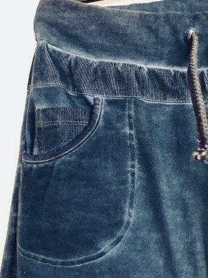 Vêtement pour la maison bleu acier coton