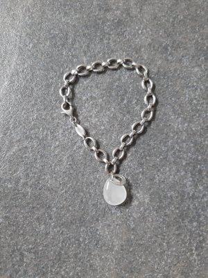 Fossil Bracelet light grey-white stainless steel