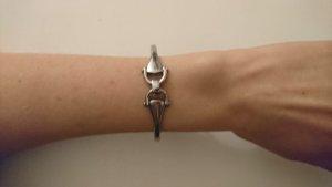 Fossil Armband Armreif Edelstahl