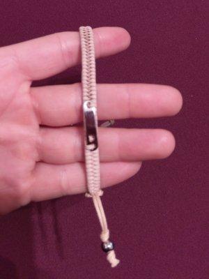Fossil armband armreif leder rosė/nude/silber neu