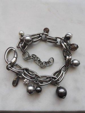 FOSSIL Armband / Perlenarmband / Bettelarmband / Charm / Edelstahl
