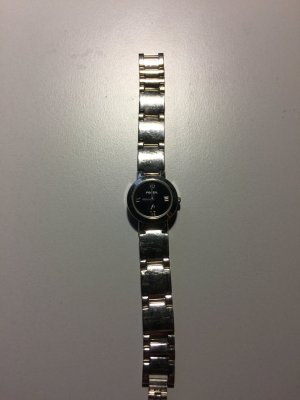 Fossil Watch black-silver-colored
