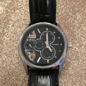 Fossil Armbanduhr Automatikwerk Lederarmband