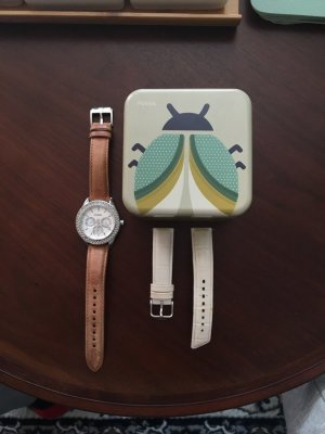 FOSSIL Armbanduhr Damen
