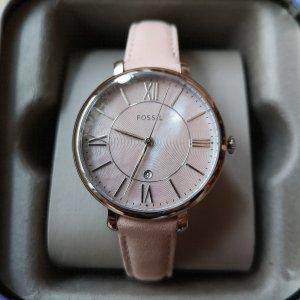 Fossil Armbanduhr ES4151 mit Lederband, neu!