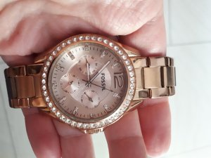 Fossil Armbanduhr gold/roségold