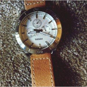Fossil Armbanduhr Leder