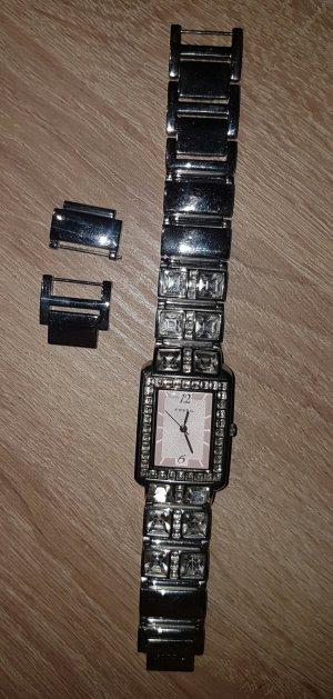 Fossil Armbanduhr mit Steinchen