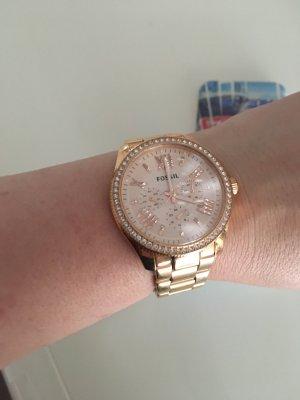 FOSSIL Armbanduhr ROSÉGOLD FARBEN - NP 139€