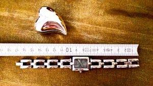 Fossil Armbanduhr, silber