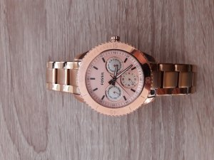 Fossil Montre rose chair-or rose