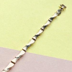 Fossil Armkettchen – Gliederarmband – silber