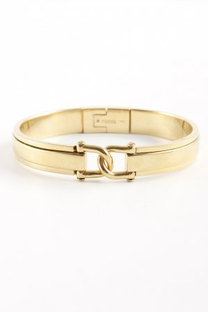Fossil Bangle gold-colored classic style
