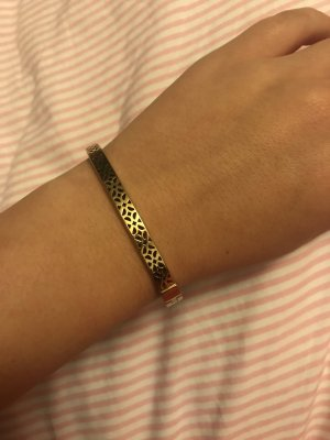 Fossil Bangle gold-colored