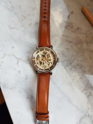 Fossil Self-Winding Watch cognac-coloured