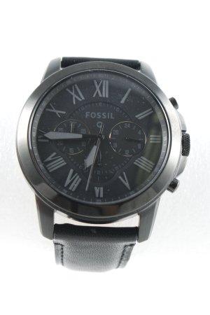 """Fossil Self-Winding Watch """"Smartwatch zum Aufladen, inkl. Ladekabel"""" black"""