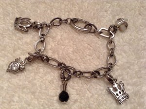 Fossil, Bettelarmband mit 5 Charms