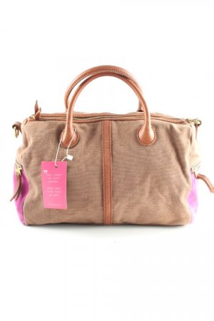 Fossil Bowling Bag brown-violet casual look
