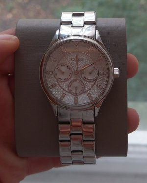 Fossil bq1560 neu Armbanduhr Damenuhr edelstahl silber