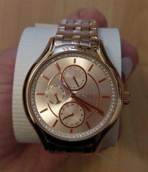 Fossil bq1581 damenuhr Armbanduhr rosė edelstahl neu