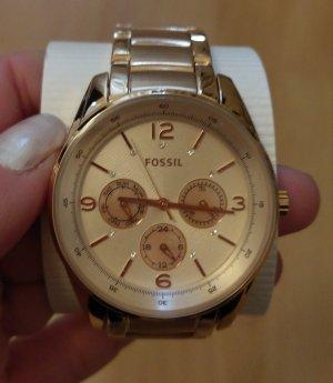 Fossil bq1703 Damenuhr Armbanduhr neu rosė gold edelstahl