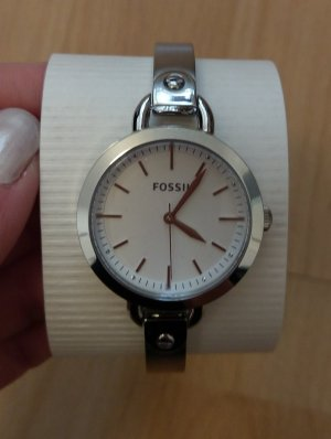Fossil bq3025 damenuhr Armbanduhr neu silber