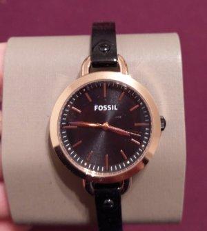 Fossil bq3027 Damrnuhr neu armbanduhr schwarz rosė gold