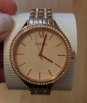 Fossil bq3116 neu damenuhr armbanduhr rosė gold edelstahl
