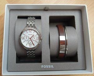 Fossil bq3238 set uhrenset Armbanduhr Damenuhr neu
