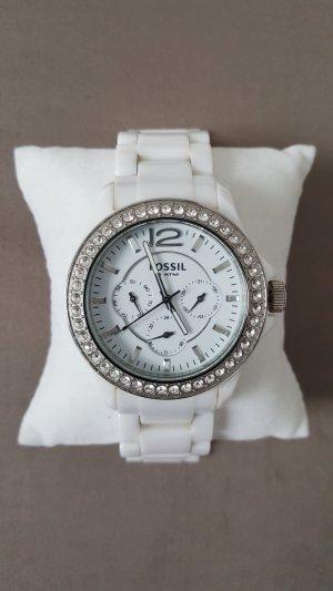 Fossil Analoog horloge wit
