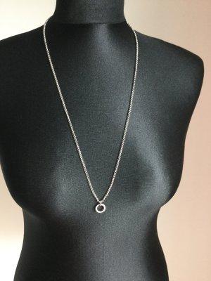 Fossil Charm Halskette mit Steinchen