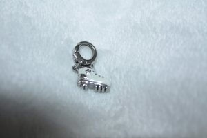 Fossil Charm silver-colored