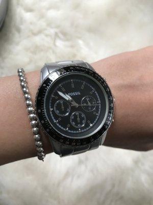 Fossil Chronograph CH 2751 Silber matt Uhr Armbanduhr