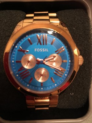 Fossil Chronograph in Roségold