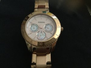 Fossil Chronograph Rosegold-farben NP 139.-€