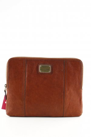 Fossil Clutch bronzefarben Business-Look
