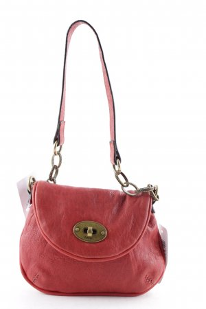Fossil Clutch karminrot Casual-Look