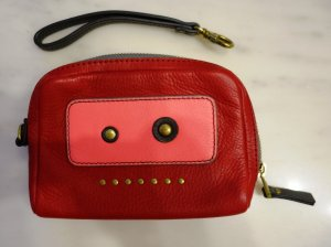 Fossil Clutch multicolored leather