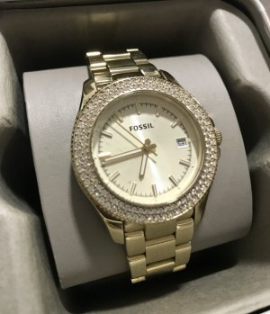 Fossil Watch gold-colored-white