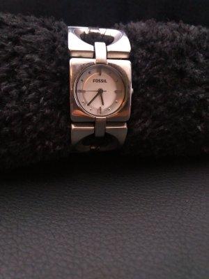 Fossil Damen Armbanduhr Silber