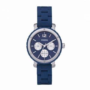 Fossil Damen Uhr BQ9406 in Blau