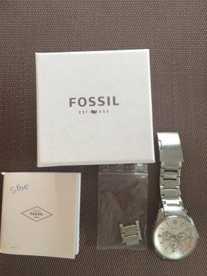 Fossil Damen Uhr in Silber