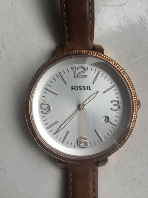 Fossil Damen Uhr lederarmband