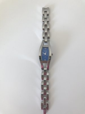 Fossil Analog Watch silver-colored-steel blue