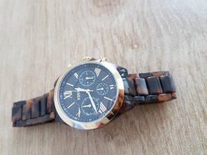 Fossil Analog Watch multicolored acetate