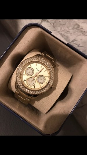 Fossil Damenuhr - Gold
