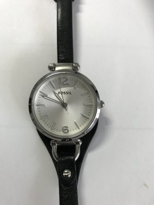 Fossil Watch silver-colored-black