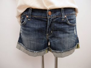 FOSSIL: Denim Shorts * Hot Pants * Boyfriend * Used-Look * Stretch * W29 * TOP!