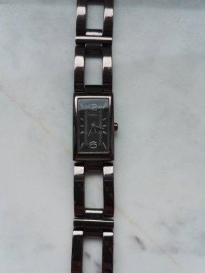 Fossil Edelstahl Armbanduhr in braun